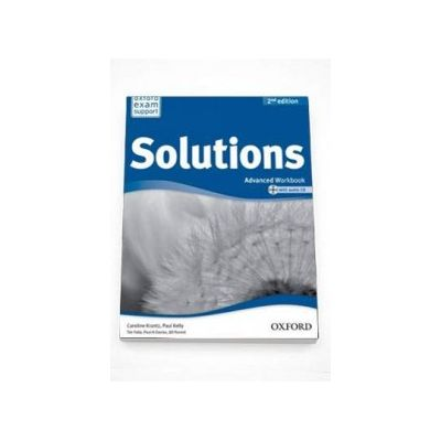 Curs de limba engleza Solutions 2nd Edition Advanced Workbook with audio CD - Oxford Exam Support