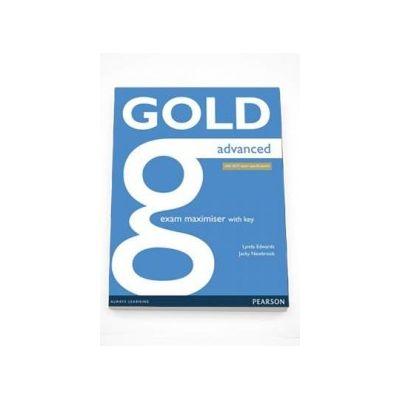 Jacky Newbrook - Curs de limba engleza Gold Advanced Exam Maximiser with Key, with 2015 exam specifications