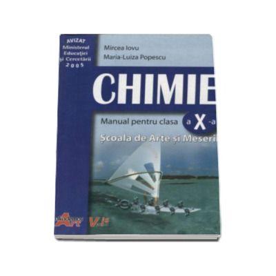 Mircea Iovu, Chimie. Manual pentru clasa a X-a. Scoala de Arte si Meserii