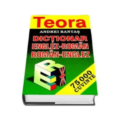 Andrei Bantas, Dictionar englez-roman si roman-englez 75000 cuvinte. Editie cu coperti cartonate