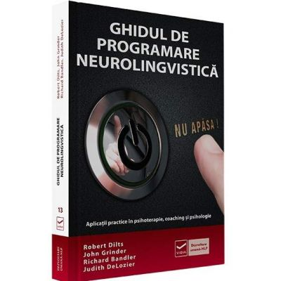 Robert B Dilts, Ghidul de programare neurolingvistica