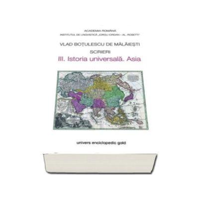 Vlad Botulescu, Scrieri - III. Istoria universala. Asia