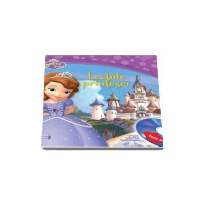 Disney, Sofia intai. Lectiile printesei, carte cu CD audio