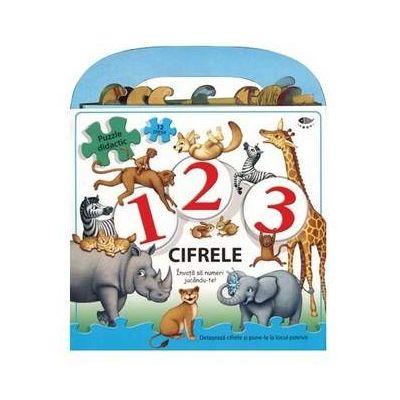 1, 2, 3 - Cifrele. Invata sa numeri jucandu-te! - Varsta recomandata 4-6 ani
