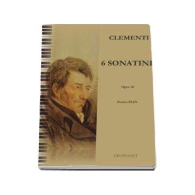 6 sonatine op. 36 pentru pian. Partituri pian si percutie; pian 2 maini