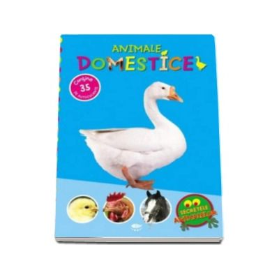 Animale domestice. Secretele animalelor - Varsta recomandata 4-7 ani