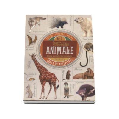 Animale. O lume a creaturilor minunate. Carte de activitati cu puzzle, stikere si poster