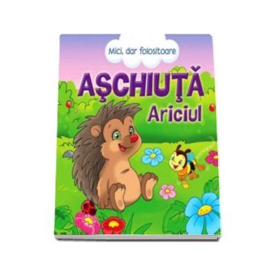 Ariciul Aschiuta. Poveste cu autocolante