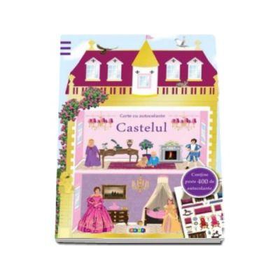 Castelul. Carte cu autocolante - Varsta recomandata 4-12 ani