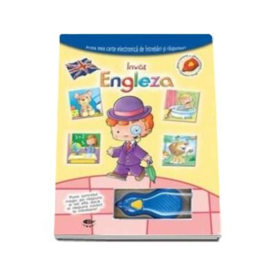Invat engleza. Soricelul magic - Varsta recomandata 4-6 ani