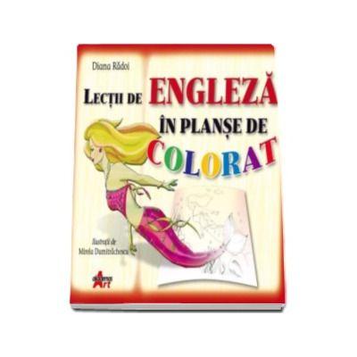 Lectii de engleza in planse de colorat (7-12 ani)
