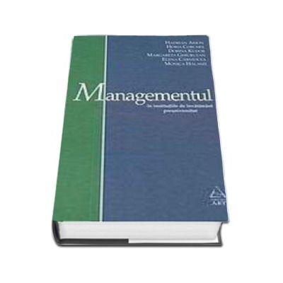 Managementul. In institutiile de invatamant preuniversitar