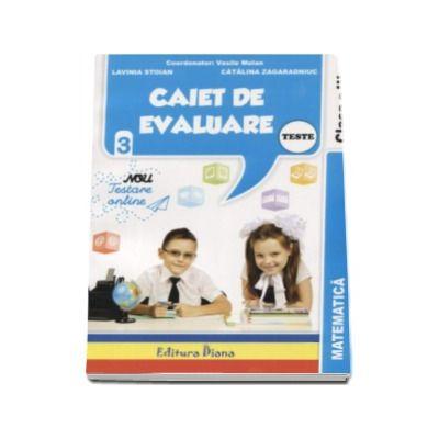 Vasile Molan, Matematica Teste. Caiet de evaluare pentru clasa a III-a
