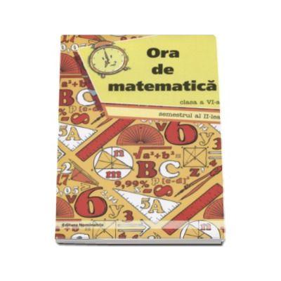 Petre Nachila, Ora de matematica clasa a VI-a semestrul al II-lea
