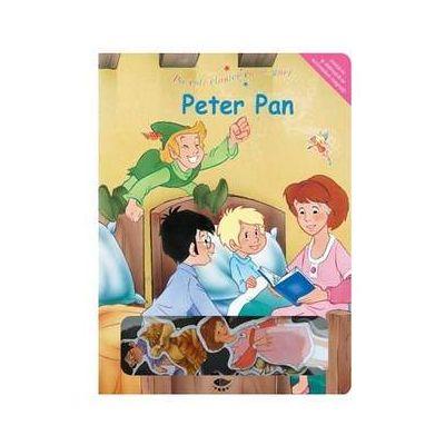 Peter Pan. Povesti clasice cu magneti - Varsta recomandata 3-6 ani