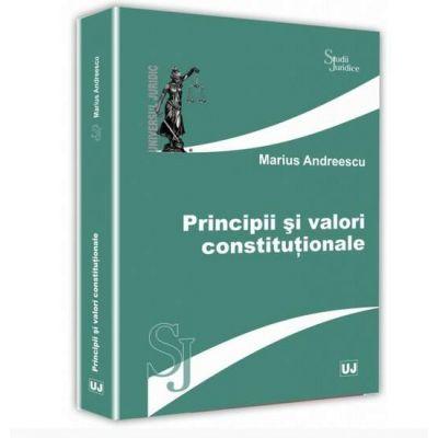 Marius Andreescu, Principii si valori constitutionale