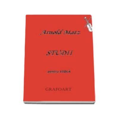 Arnold Matz, Studii pentru viola