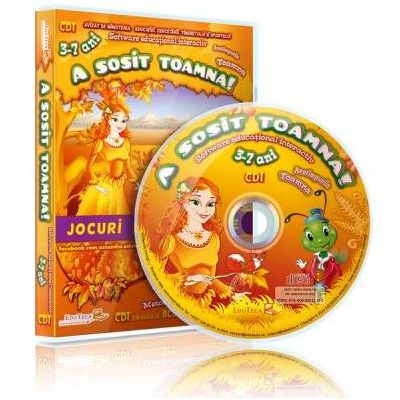 A sosit toamna. Jocuri educationale 3-7 ani, CD 1 - Colectia Eduteca
