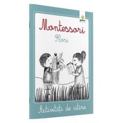 Activitati de citire - Montessori Flori
