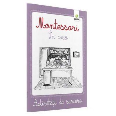 Activitati de scriere - Montessori In casa