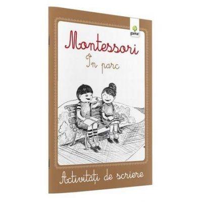 Activitati de scriere - Montessori In parc