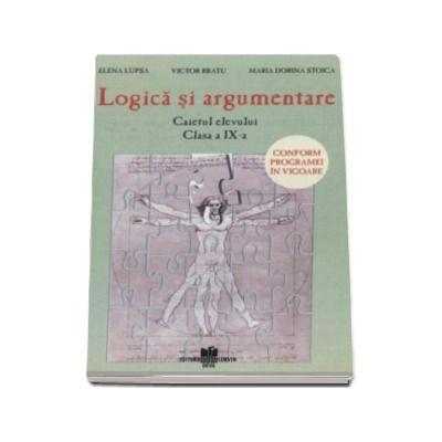 Caietul elevului pentru logica si argumentare clasa a IX-a
