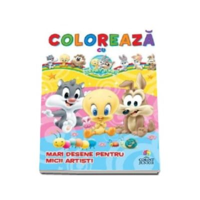 Coloreaza cu Baby Looney Tunes. Mari desene pentru micii artisti