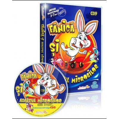Fanica si Asaltul Microbilor. Jocuri educationale 3-7 ani CD 9 - Seria Prietenii sanatatii