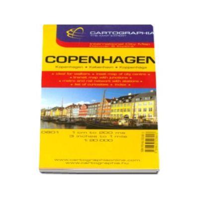 Hartă rutieră Copenhaga