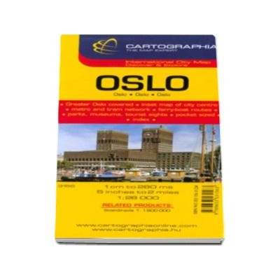 Hartă rutieră Oslo