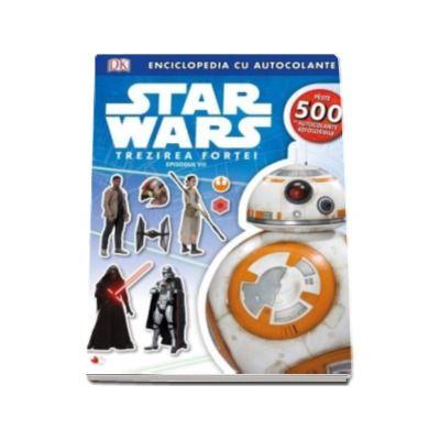 Disney, Star Wars. Trezirea Fortei. Episodul VII - Enciclopedia cu autocolante