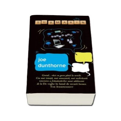 Joe Dunthorne, Submarin - Carte de buzunar