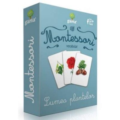 Vocabular - Lumea plantelor - Montessori