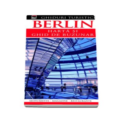 Dorling Kindersley, Berlin - Harta si ghid de buzunar