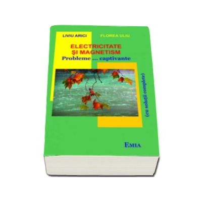 Electricitate si magnetism. 250 de probleme, captivante si solutiile complete - Liviu Arici si Florea Uliu