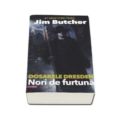 Jim Butcher - Nori de furtuna - Seria Dosarele Dresden