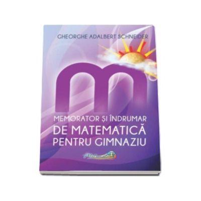 Gheorghe-Adalbert Schneider, Memorator si indrumar de matematica pentru gimnaziu