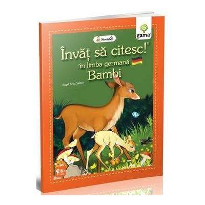 Bambi - Invat sa citesc in limba germana nivelul 3 - Varsta recomandata: 8 - 11 ani