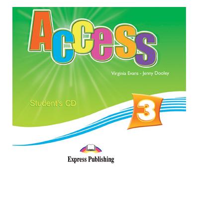 Virginia Evans - Curs de limba engleza Access 3. Students audio CD, nivel Pre-Intermediate