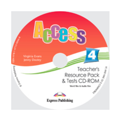 Virginia Evans, Curs de limba engleza Access 4 CD - Teachers Resource Pack CD-ROM cu Teste