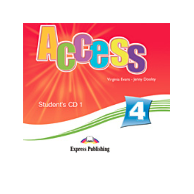 Virginia Evans, Curs de limba engleza Access 4. Students audio CD 1 (Intermediate B1)