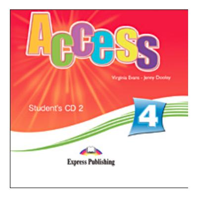 Virginia Evans, Curs de limba engleza Access 4 - Students audio CD 2 (Intermediate B1)