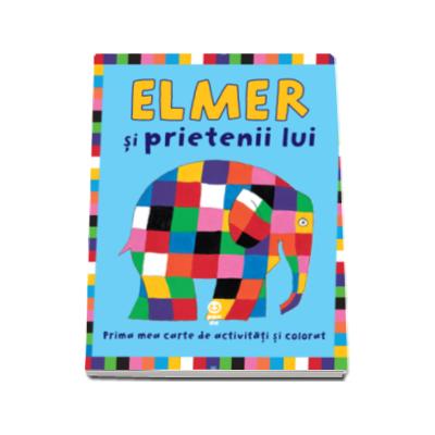 David McKee, Elmer si prietenii lui - Prima mea carte de activitati si colorat