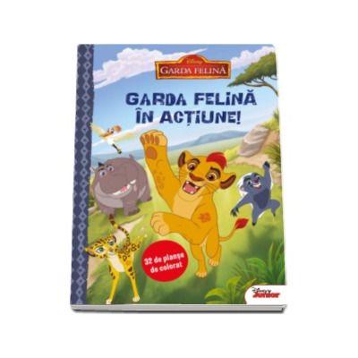 Garda Felina In Actiune 32 De Planse De Colorat Colectia