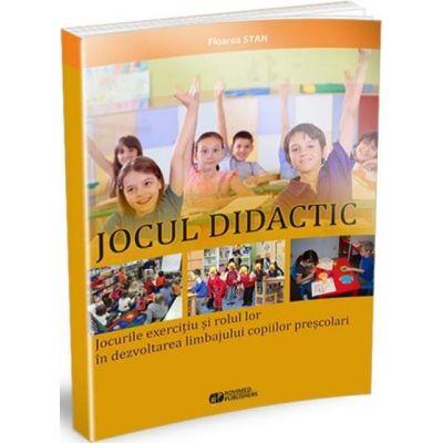 Stan Floarea, Jocul didactic. Jocurile exercitiu si rolul lor in dezvoltarea limbajului copiilor prescolari