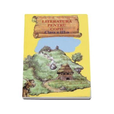 Literatura pentru copii, clasa a III-a