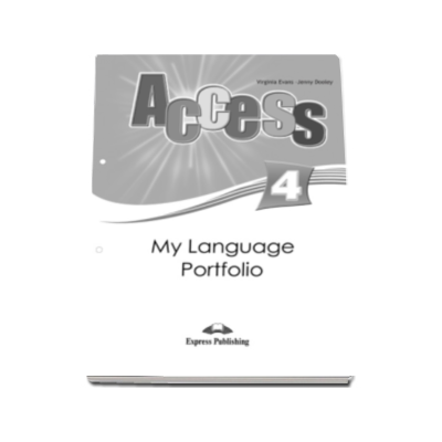 Virginia Evans, My Language Portfolio - Curs limba engleza Access 4 Intermediate B1