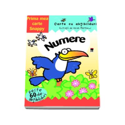 Numere - Carte cu abtibilduri