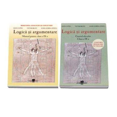 Set logica - Manual si caiet de logica pentru clasa a IX-a - Autori - Elena Lupsa, Victor Bratu si Maria Dorina Stoica