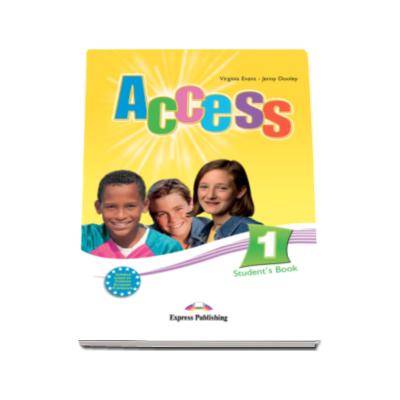 Student Book Access 1 (nivel A1). Manual de Limba Engleza pentru clasa a V-a - Virginia Evans si Jenny Dooley